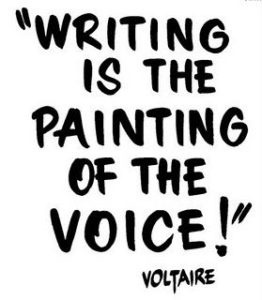 writing - voltaire